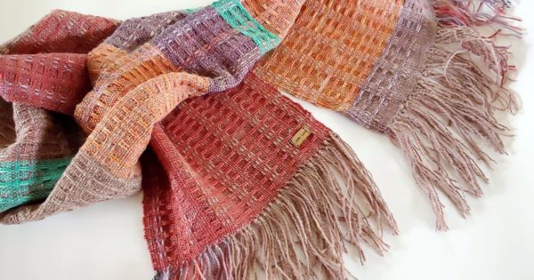 Handwoven Scarf by Lori Law